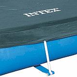 Защитный тент для прямоугольного бассейна, 200 х 300 см Intex, фото 2