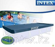 Тент для прямоугольного каркасного бассейна 450х220 см