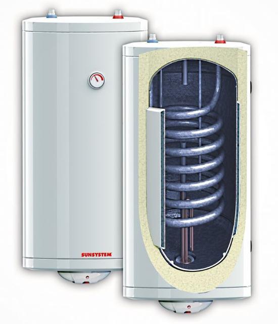 Бойлеры емкостные типа BB S1 и SNS SN с одним фиксированным теплообменником