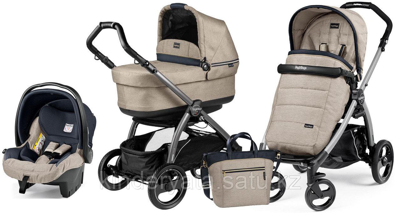 Детская коляска 3 в 1 Peg Perego Book Plus Set Modular luxe beige