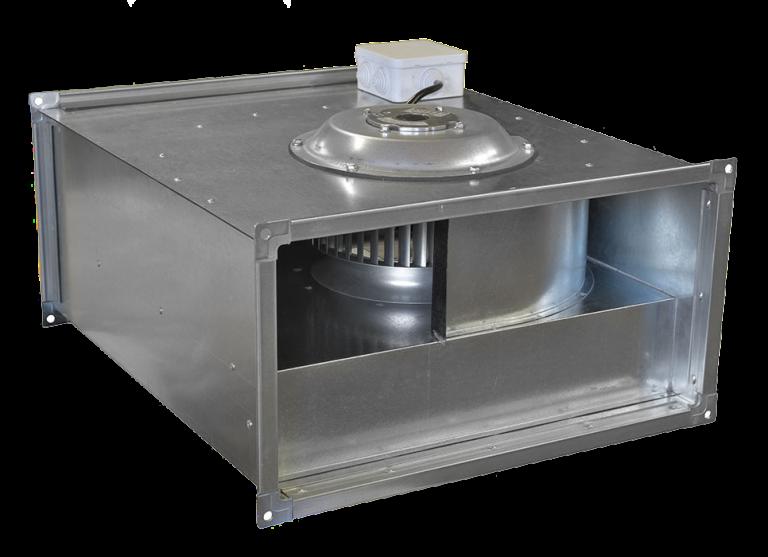 Вентилятор канальный прямоугольный VCP 100-50/45-GQ/6D