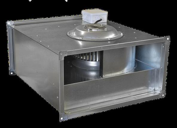 Вентилятор канальный прямоугольный VCP 80-50/40-GQ/8D, фото 2