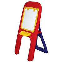 EDU PLAY Доска магнитная д/рисования, маркер, губка для стирания красно/синяя