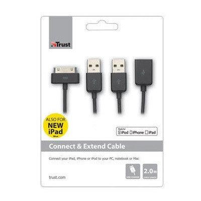 Кабель Trust Cable iPhone 4 17969, фото 2