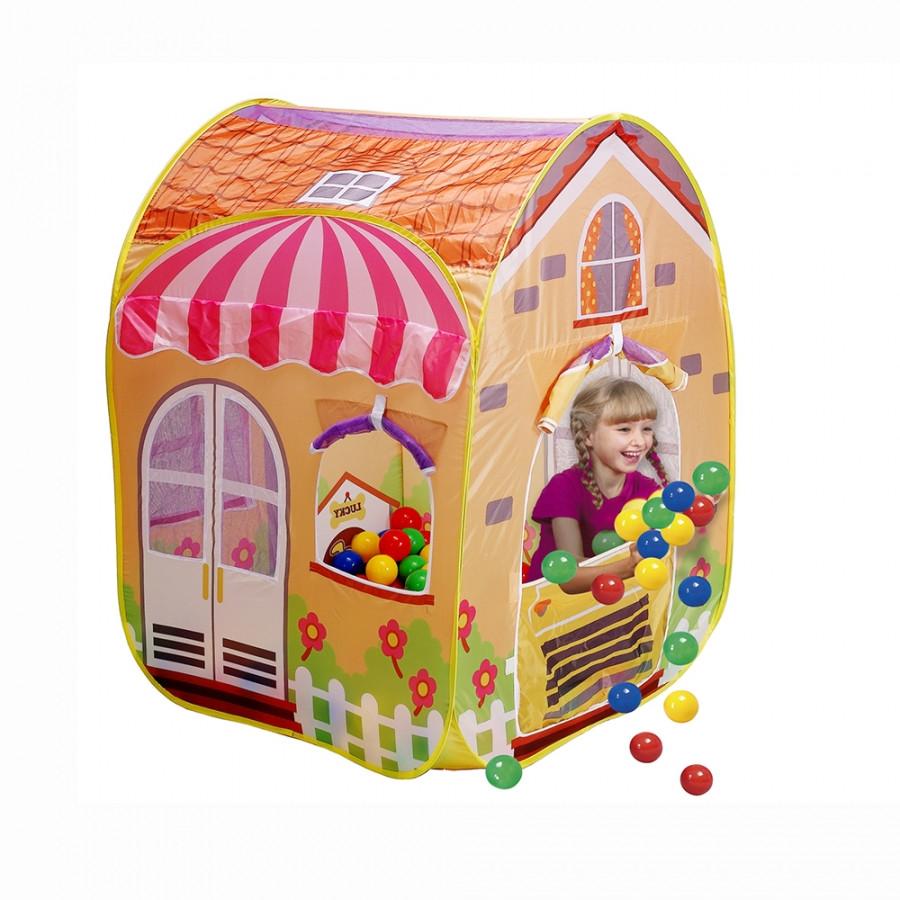 CALIDA  Дом + 100 шаров ВИЛЛА (85х85х110см)