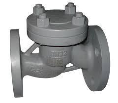 Клапан обратный подъемный стальной фланцевый 16с10п Ру16
