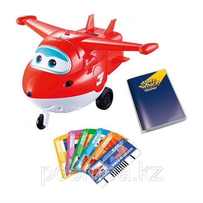 """Интерактивная игрушка Super Wings """"Джетт"""" (свет, звук)"""