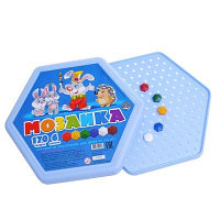 Игровой набор детская мозаика, шестигранная, 170 фишек, 6 цветов