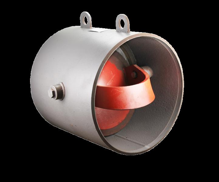 Клапан обратный стальной под приварку 19с47нж РУ40