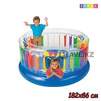 Детский надувной батут Intex 48264 (182 / 86 см), фото 1