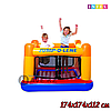 Надувной игровой центр-батут Intex Jump-o-lene 48260NP, 48260, размер 174х174х112см