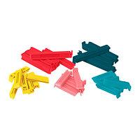 Зажим БЕВАРА 30 шт. разные цвета ИКЕА, IKEA