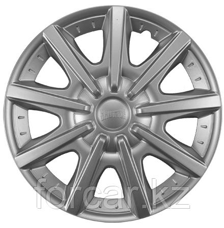 Колпак колесный 14 ШАТТЛ серебристый (4 шт.)