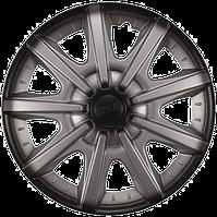 Колпак колесный 14 ШАТТЛ серебристо-черный (4 шт.)