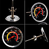 Термометр для гриль-мангала печи на углях и дровах KT450B