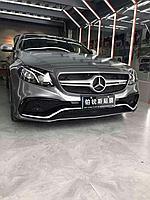 Обвес AMG E63 на Benz E-class W213, фото 1