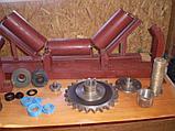 Роликоопоры зерновые, желобчатые в сборе с роликами, фото 6