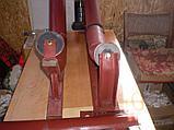 Роликоопоры для щебня и руды из швеллера, желобчатые в сборе с роликами, фото 3