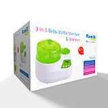 Стерилизатор-подогреватель бутылочек и детского питания 3 в 1 Ramili BSS250, фото 2