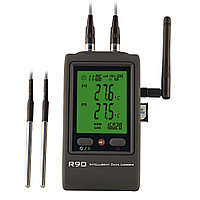 Hairuis R90TT-G Регистратор температуры с двумя внешними датчиками с GSM, фото 1