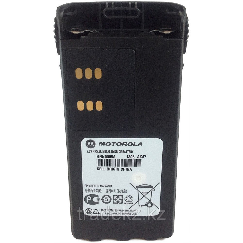 Аккумулятор Motorola HNN9009AR N-mish (7,2V-1900 мАч) для р/ст GP1/3/6/1280