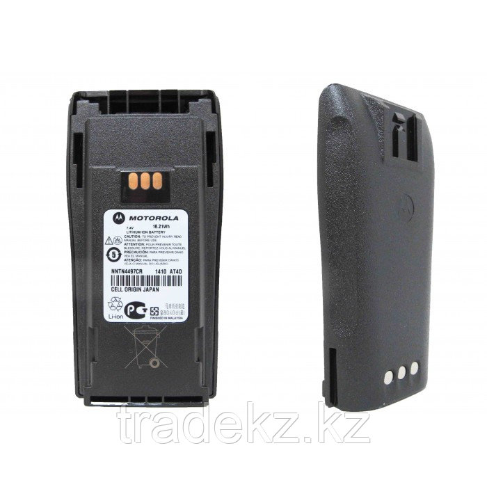 Аккумулятор Motorola NNTN4497CR Li-Ion (7,2V-2,25 A/H) для р/ст CP040/140/160/180, DP1400