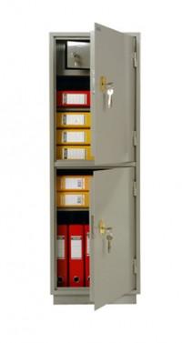 Металлический бухгалтерский шкаф КБ - 23т