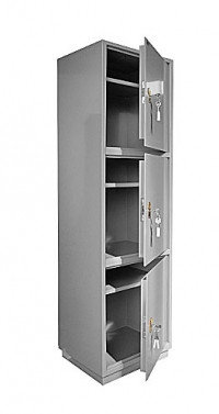 Металлический бухгалтерский шкаф КБ - 033 / КБС - 033, фото 2
