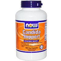 Now Foods, Средство от кандидоза и паразитоза, здоровье кишечника, 180 капсул.