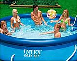 БАССЕЙН НАДУВНОЙ EASY SET POOL 366Х76 СМ INTEX, фото 7