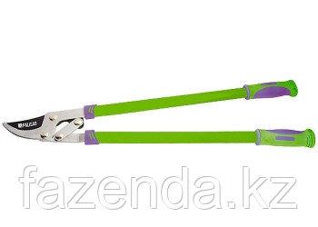 Сучкорез, 750 мм, с прямым резом, рычажный мех., усиленное лезвие, двухкомпонентные ручки
