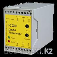 Автоинформатор ICON AN306, 6 линий, 30 минут записи, 99 сообщений