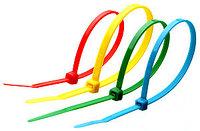 Кабельные стяжки стандартные, нейлоновые, цветные