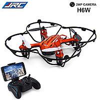 Квадрокоптер JJRC H6W FPV WI-FI с видеотрансляцией на смартфоне, фото 1