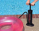 Насос ручной Hi-Output Hand Pump 48см Intex, фото 4