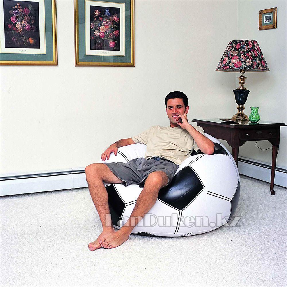 Кресло мяч надувное Bestway 75010 (114* 112* 71 см) - фото 2