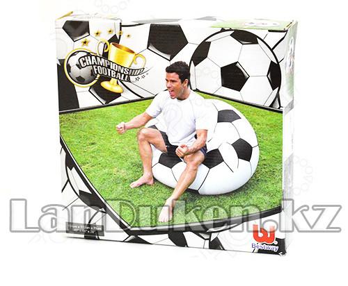 Кресло мяч надувное Bestway 75010 (114* 112* 71 см) - фото 4