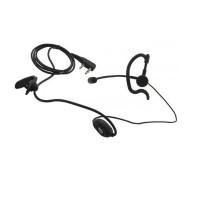 Гарнитура EMC-17 с креплением на ухо и подвесным микрофоном для носимых радиостанций TC-508/518/610/700