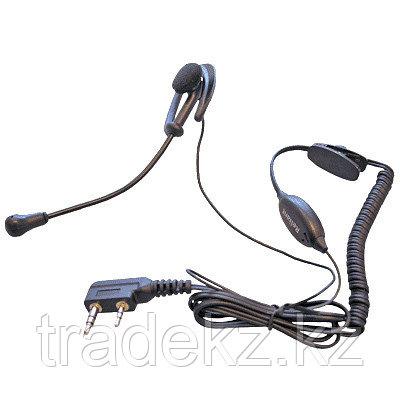 Гарнитура HS-5C с креплением на ухо и микрофоном на гибкой штанге для носимых радиостанций ICOM, фото 2
