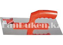 Гладилка из стали с пластиковой ручкой и зеркальной полировкой 28х13 см MATRIX 86776 (002)