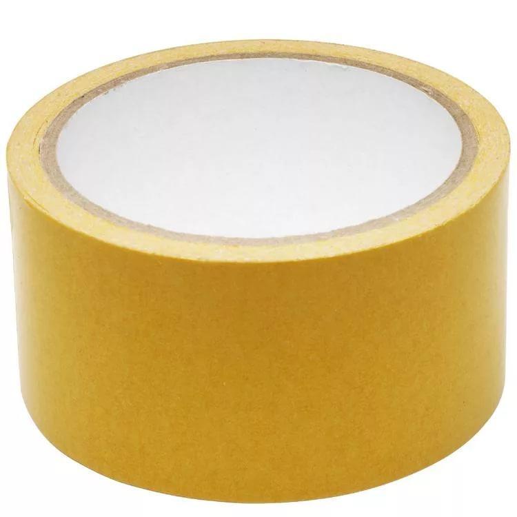 HAUSER лента двухсторонняя для ковролана жёлтая 48 мм * 25 м