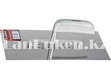 Гладилка из стали с деревянной ручкой и зеркальной полировкой 28х13 см MATRIX 86733 (002)