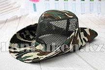 Шляпа для рыбалки, охоты (зеленая)