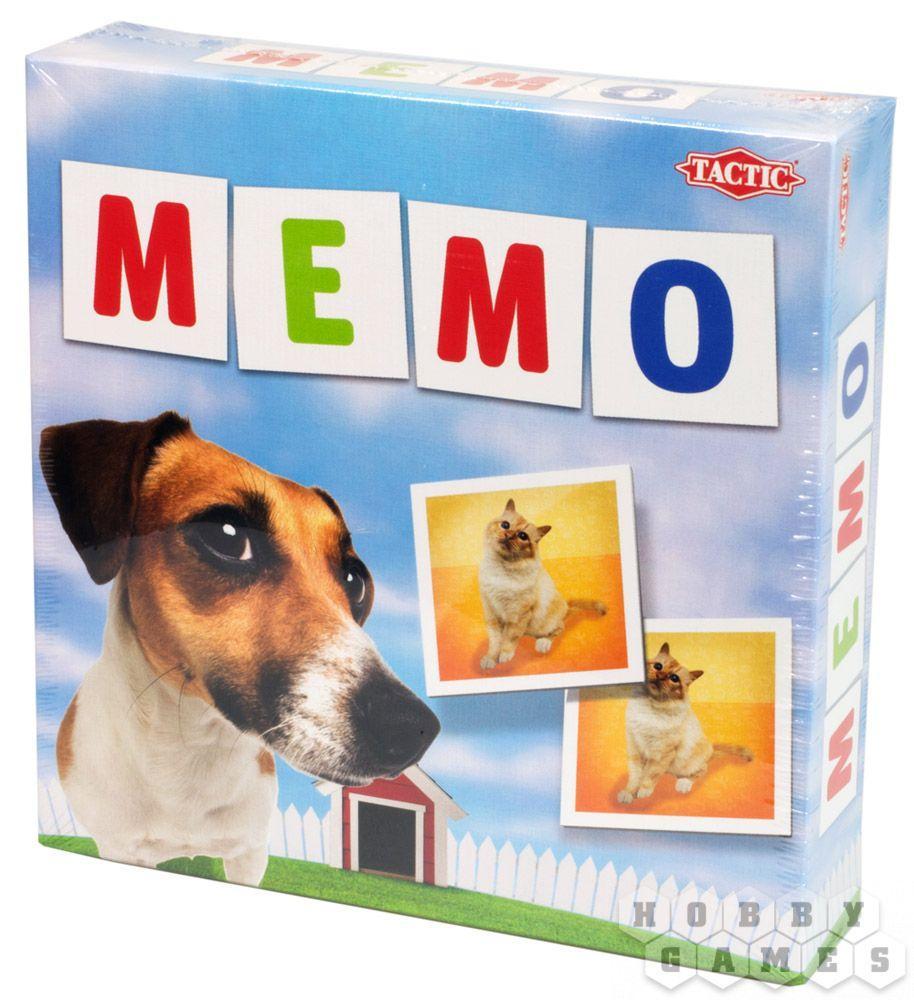 Настольная игра Мемо Животные 2