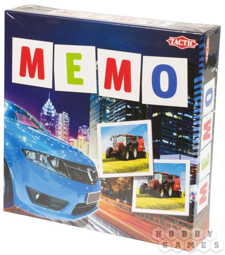 Настольная игра Мемо Транспорт 2
