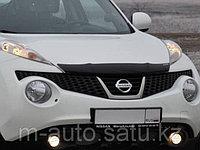 Мухобойка/дефлектор капота на Nissan Juke/Ниссан Жук 2011-