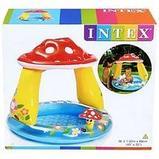 "Детский надувной мини-бассейн ""Грибок"" 102Х89 СМ Intex (Mushroom Baby), фото 3"