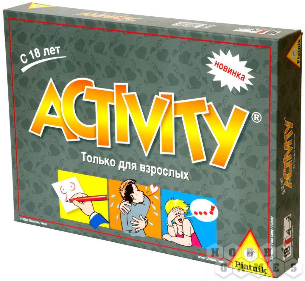 Настольная игра Activity для Взрослых