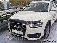 Мухобойка /дефлектор капота на Audi Q3/Ауди Q3