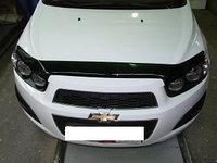 Мухобойка (дефлектор капота) на Chevrolet Aveo/Шевроле Авео, фото 1